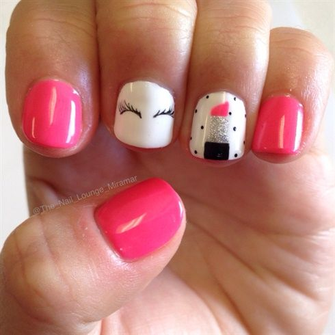 Girly Nails by TheNailLounge from Nail Art Gallery
