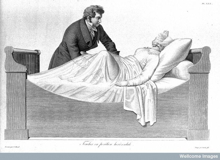 19th-century depiction of a vaginal examinatio. Hysteria. The word conjures up an array of images, none of which probably include a nomadic uterus wandering aimlessly around the female body. Yet up until the 18th century, that is precisely what medical practitioners believed was the cause behind this mysterious disorder. Physicians prescribed all kinds of treatments for a wayward womb.