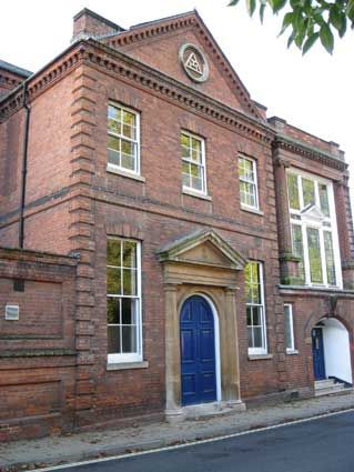 Quoin Corner On Brick Building Ipswich Historic Lettering Soane St Bontool