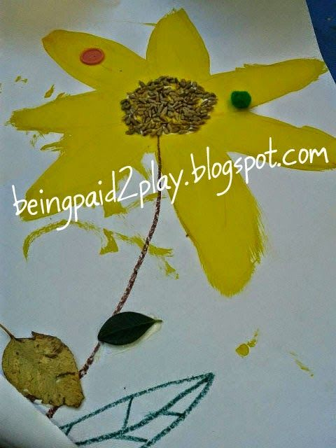 Being Paid 2 Play: Natural Sunflower
