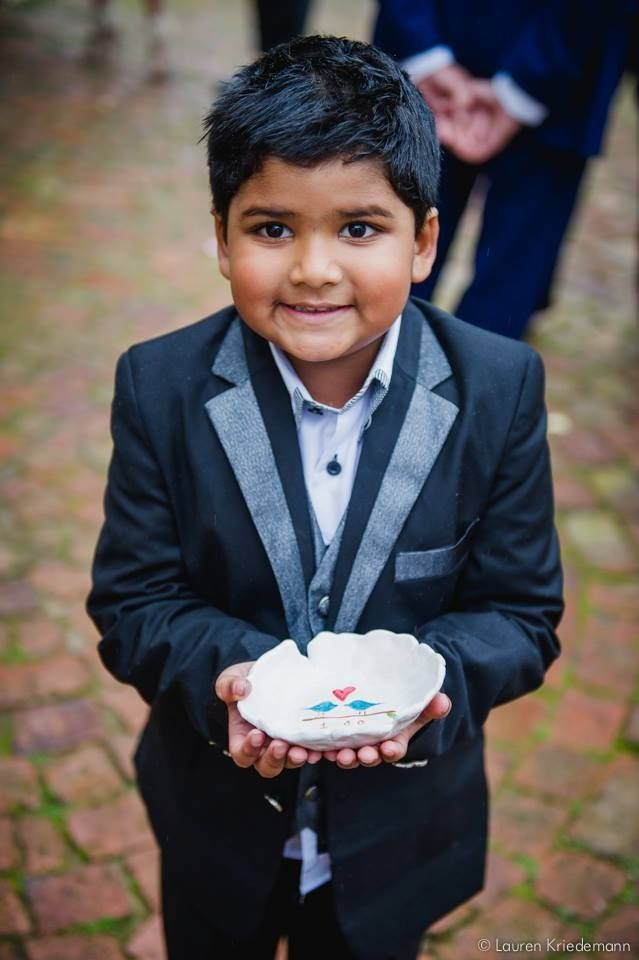 Cutest ring bearer ever!