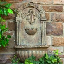 Outdoor Wall Water Fountains best 25+ outdoor wall fountains ideas on pinterest | wall