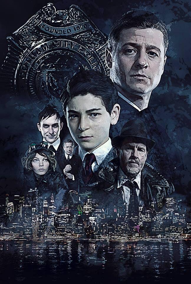 @Gotham @GothamTVWriters A poster I did for #Gotham
