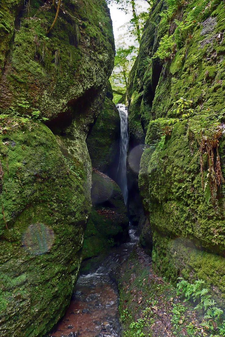 Drachenschlucht, Eisenach, Thüringen. Deutschland. I love spots like this