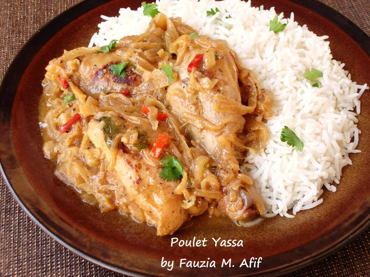 Chicken Yassa or Poulet Yassa is a traditional Senegalese 'grilled chicken cooked in onion' dish, and is one of the most popular West African recipes that can be found in Senegalese restaurants the world over. You may feel daunted by the amount of onions used, but they totally do make the dish.
