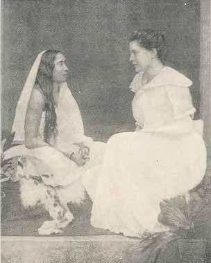 Sister Nivedita with Sarada Devi