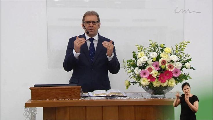 [Pregação] O mestre está aqui e te chama - Pr Anchieta Carvalho