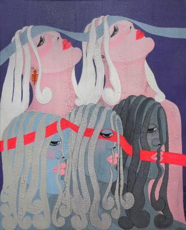 "Saatchi Art Artist Seba Art Gallery; Painting, ""SEBA ART GALLERY BBODRUM SYMPOSIUM2014"" #art"