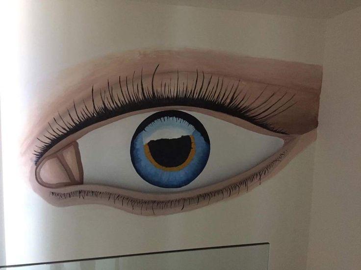 Μάτι από γυψοσανιδα