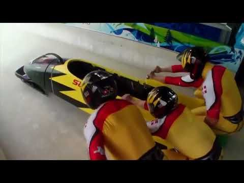 Capsule olympique historique : bobsleigh - YouTube