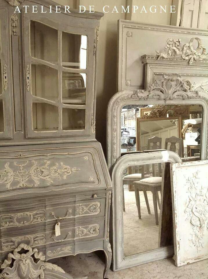 Atelier de Campagne via Facebook Love that style!