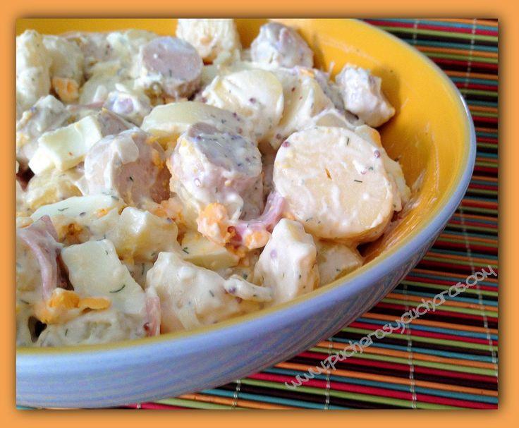 Ensalada de patata alemana ensaladas pinterest - Ensalada alemana de patatas ...