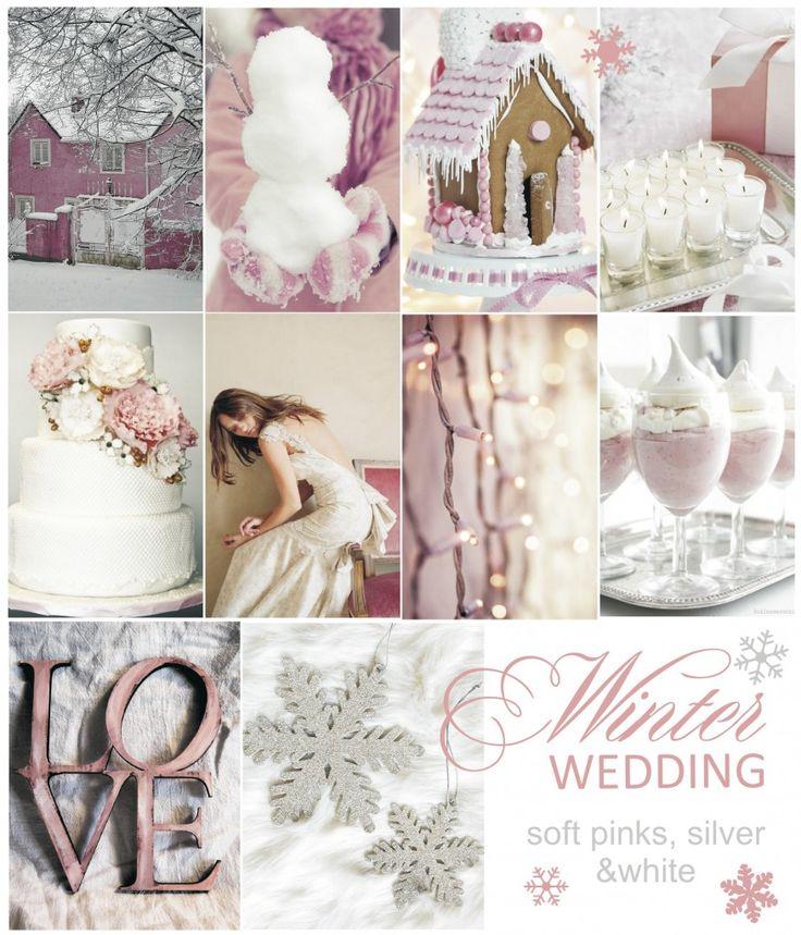 Naturally Chic Pink Winter Wedding Inspiration