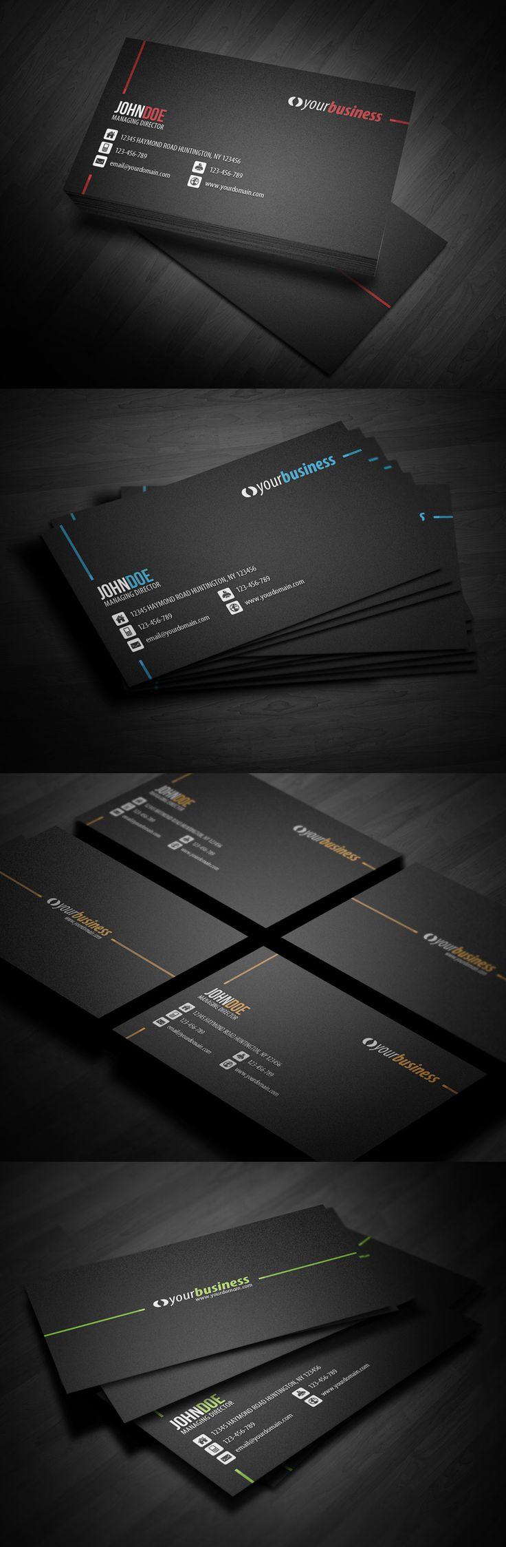 Line Corporate Business Card by glenngoh.deviantart.com on @deviantART