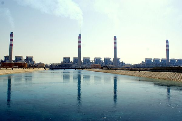 Shoaiba power plant in Saudi Arabia is the second biggest thermal power plant in the world. Watch more pics @ http://www.power-technology.com/features/feature-giga-projects-the-worlds-biggest-thermal-power-plants/