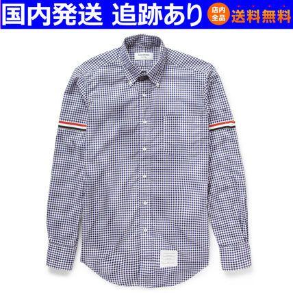 SS☆ギンガムチェック コットンシャツ☆トムブラウンTHOM BROWNE