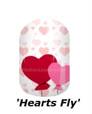 Let your heart sore Higher and Higher. #hearts #love #balloons #valentinesday #valentinenails #nails #jamberry #nas #rebeckapearsonjn #rebeckapearsonjn