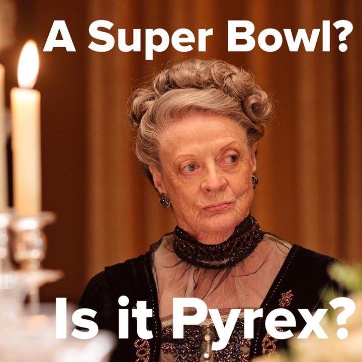 A Super Bowl? Is It Pyrex?