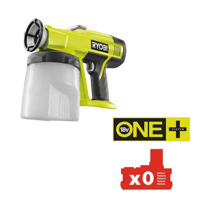 18V Cordless Speed Sprayer | Power Tools | Ryobi Tools From England