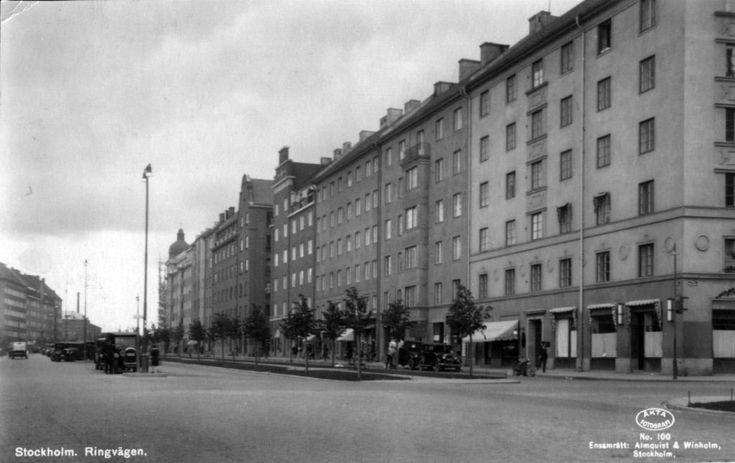 Stockholm. Ringvägen. | Almquist & Winholm 100. | Flickr