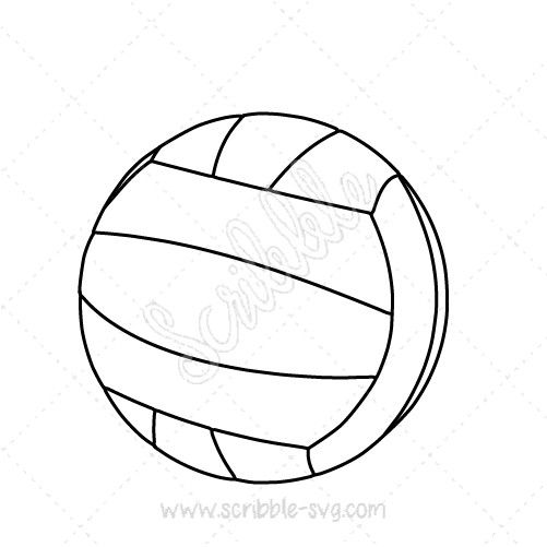 """A Volleyball image for whiteboard animation videos. Compatible with Sparkol's Videoscribe, Explaindio and Easy Sketch Pro. Please check the descriptions below to find out more details.      (adsbygoogle = window.adsbygoogle 
