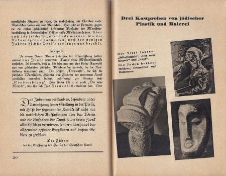 """The """"Degenerate Art"""" Exhibit and the Nazi's View of Art"""