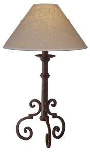 11 best lamps images on pinterest wrought iron blacksmithing iron table lamps mozeypictures Gallery