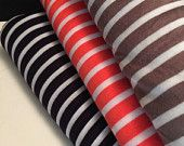 Stretch Jersey Knit Stripe Print 1 Yard