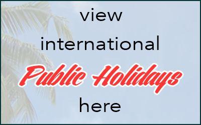 Europe Public Holidays 2015 and 2016