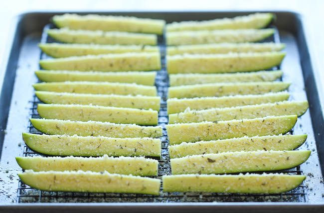 Baked Parmesan Zucchini - Damn Delicious