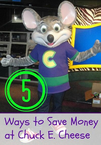 5 Ways to Save Money at Chuck E Cheese