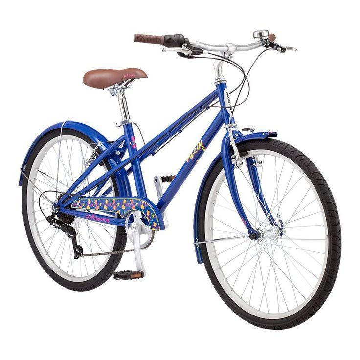 Schwinn Avely 24 Junior Girl's Cruiser Bike 2019 Navy