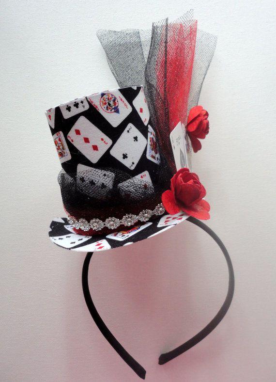 Black Jack Poker Party Hat Ready To Ship by alphabulous on Etsy, $24.00