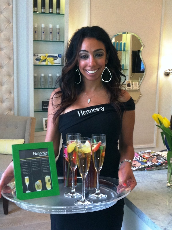 Specialty Hennessey cocktails at the Dry Bar and Lash Lounge GNO