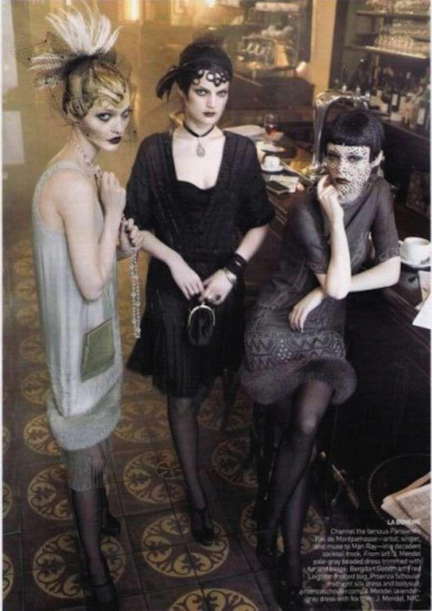 Vuelve a la moda el estilo años 20: fotos de los looks - Look años 20 inspiración