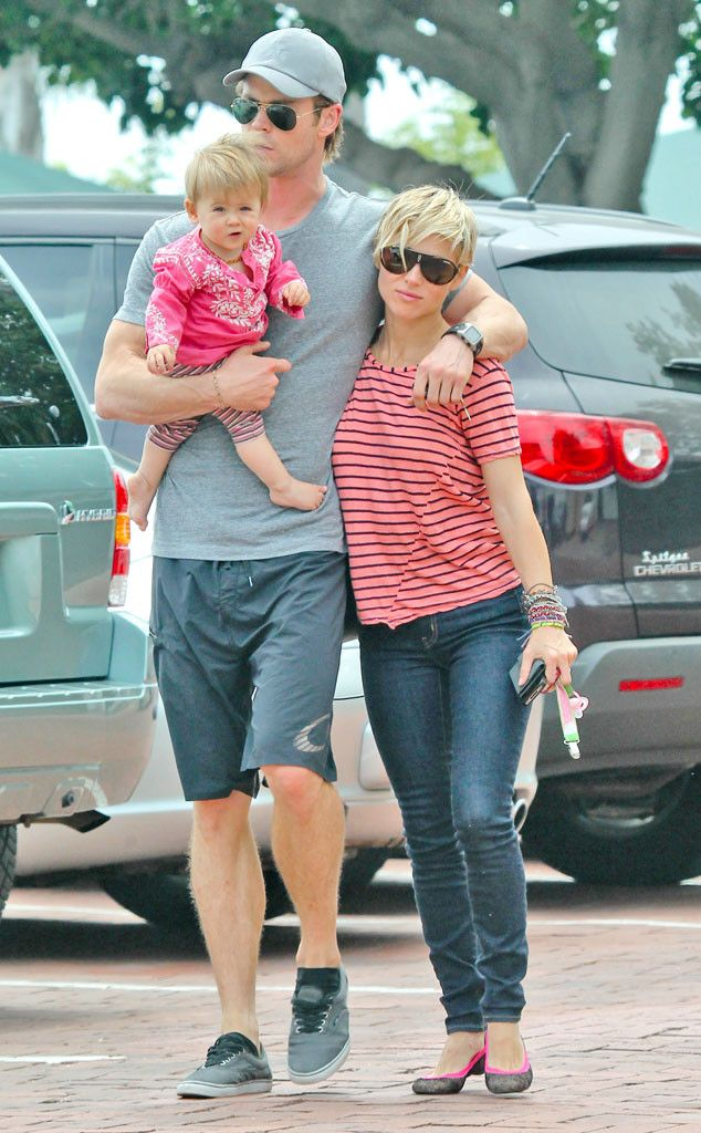 The adorable Hemsworth family from The Big Picture: Today's Hot Pics!   E! Online