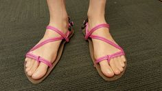Make your own Sandals - DIY huaraches