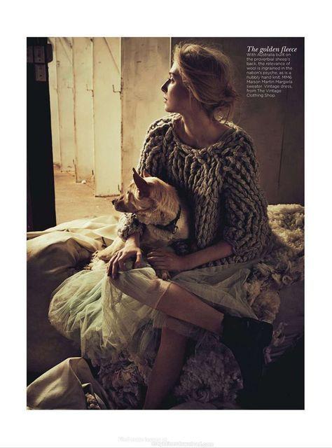 'See You At Sundown' Elizabeth Debicki by Will Davidson for Vogue Australia December 2012 [Editorial] - Fashion Copious