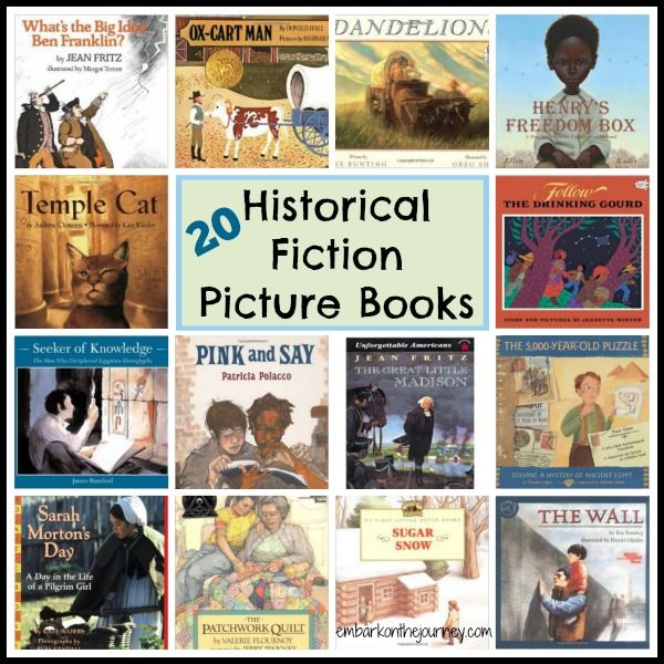 Bring history to life with these historical fiction picture books. | embarkonthejourney.com
