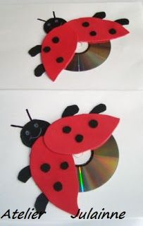 julainneartes: Trabalhos com CD usados