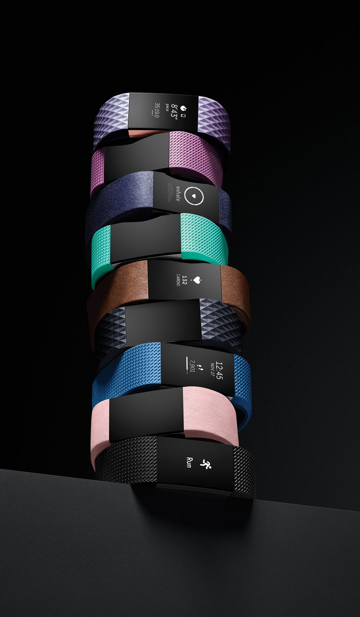 Fitbit Charge 2 on Behance
