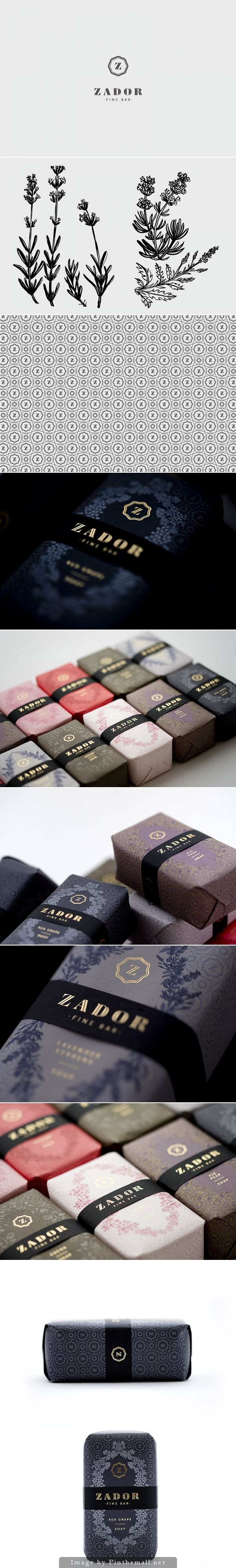 Soap Packaging 'Zador' by Eszter Laki