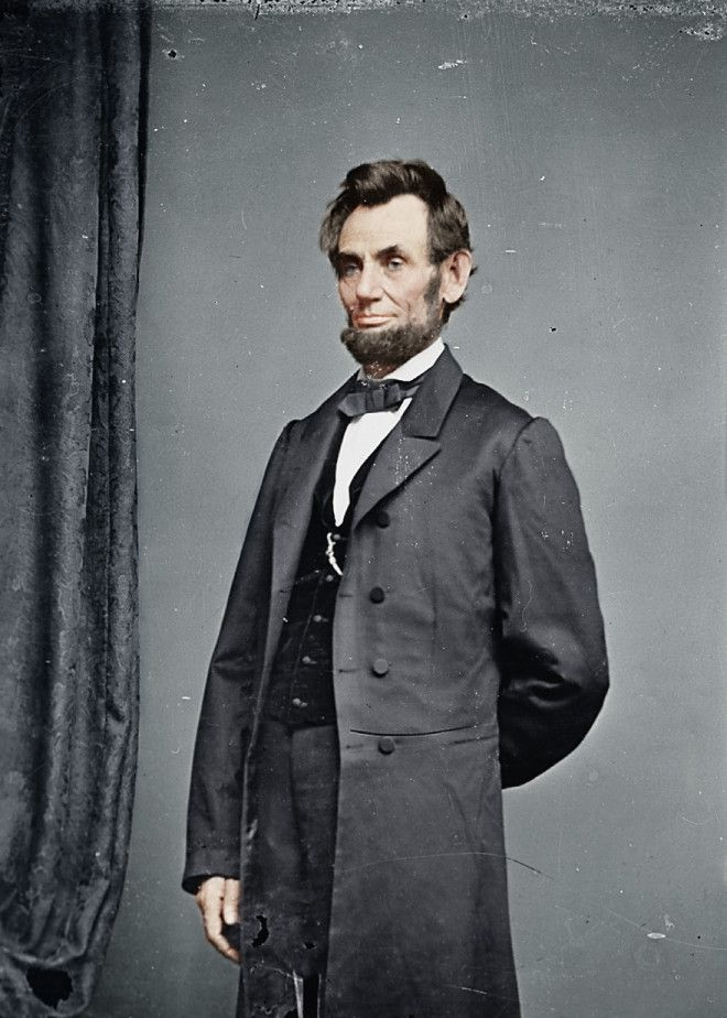 Abraham Lincoln, pres. --- Historic Black & White Photos in Full Color --- Airows.com