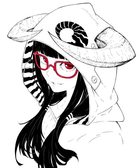 Black, White and Red Colors! - pixiv Spotlight