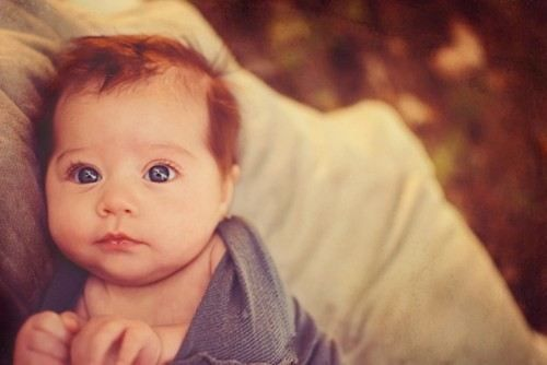 Newborn Baby Girl With Black Hair And Blue Eyes 60 best Ginger Babies ...