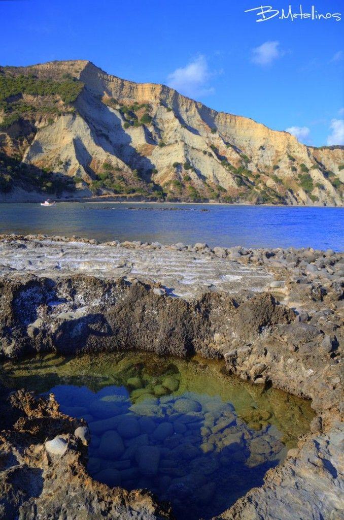 Arcoudilas Beach, Southwest Corfu, Greece, by Bill Metallinos