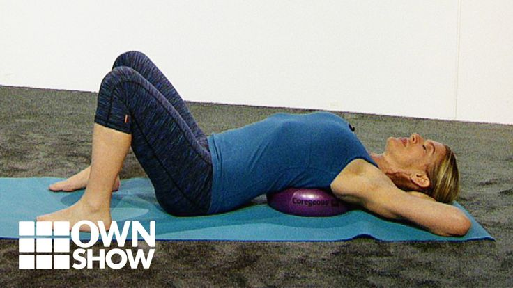 This back bend is not only a great way for you to combat the work desk slouch but it will also help you breathe better. Jill Miller, founder of Yoga Tune Up, shows you an easy way to achieve that elusive deep breath.