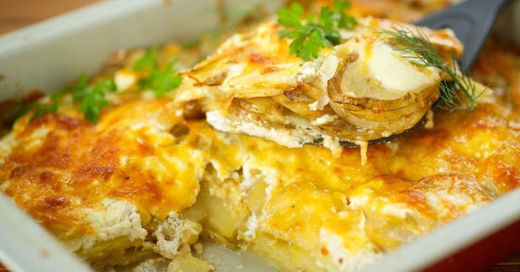 Pourquoi ne pas le cuisiner plus souvent...il est pourtant si simple .. une recette du célèbre et délicieux gratin dauphinois