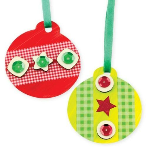 Cardboard Baubles - Pack of 5 - - - FREE DELIVERY ACROSS AUSTRALIA