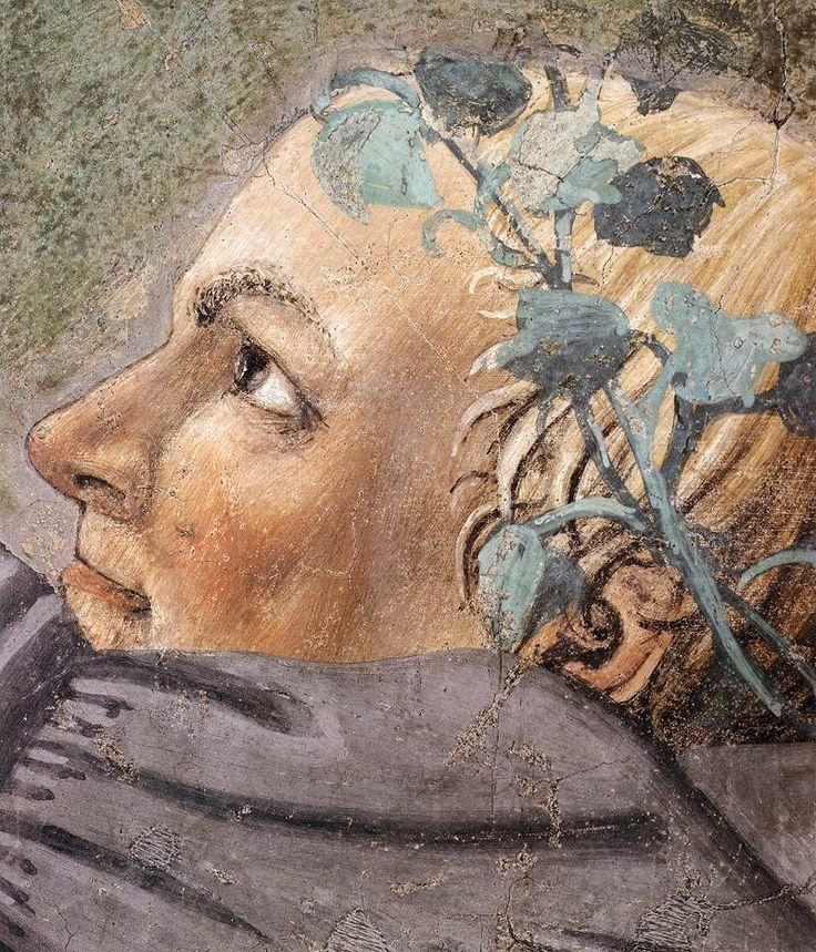 ❤ - PIERO DELLA FRANCESCA - (1415 - 1492) - Burial of the Holy Wood (detail). Fresco . San Francesco, Arezzo, Italy.